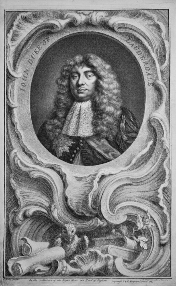 John Duke of Lauderdale.