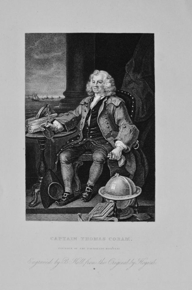 """""""Captain Thomas Coram"""" - c1870"""