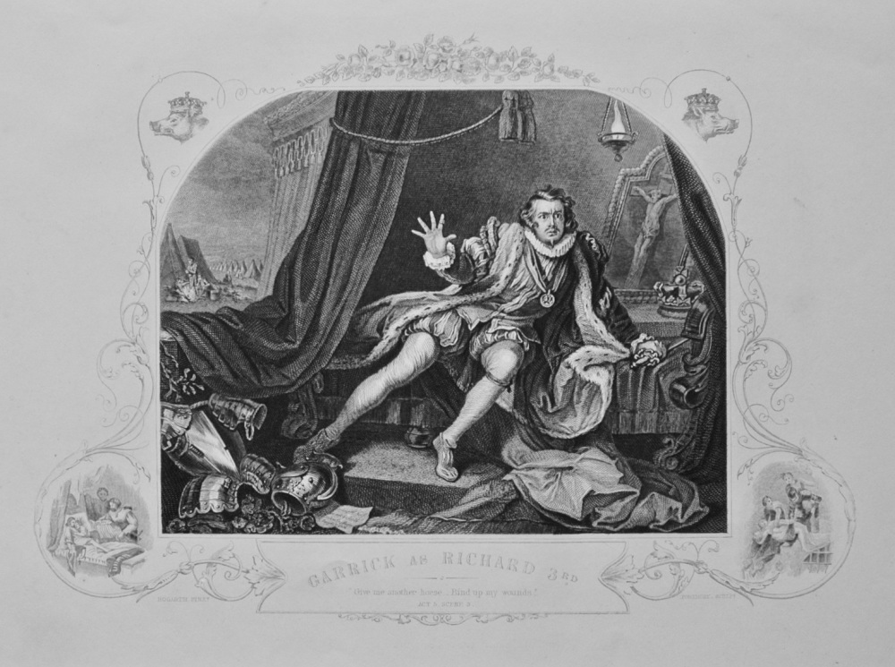 """Garrick as Richard 3rd"" - c1870"