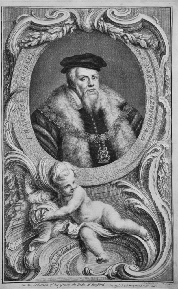 Francis Russel the 2nd. Earl of Bedford  ob:1585.