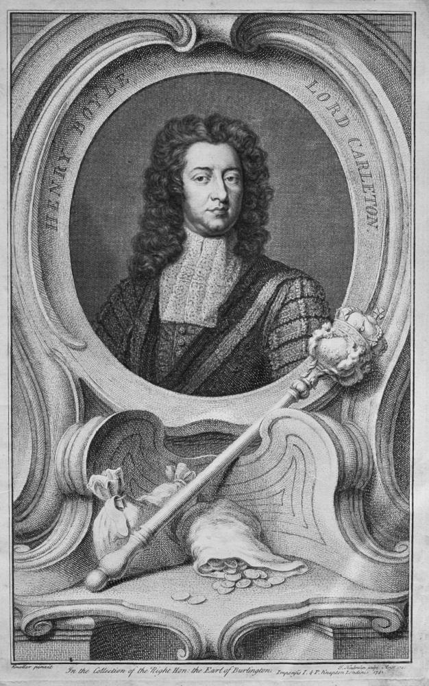 Henry Boyle  Lord Carleton.