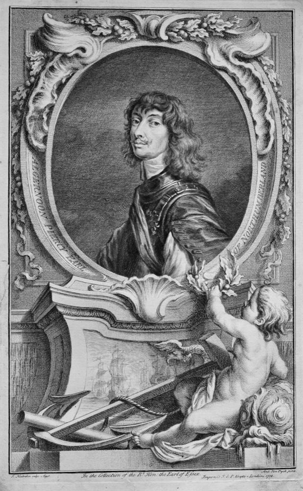Algernoon Piercy   Earl of Northumberland.