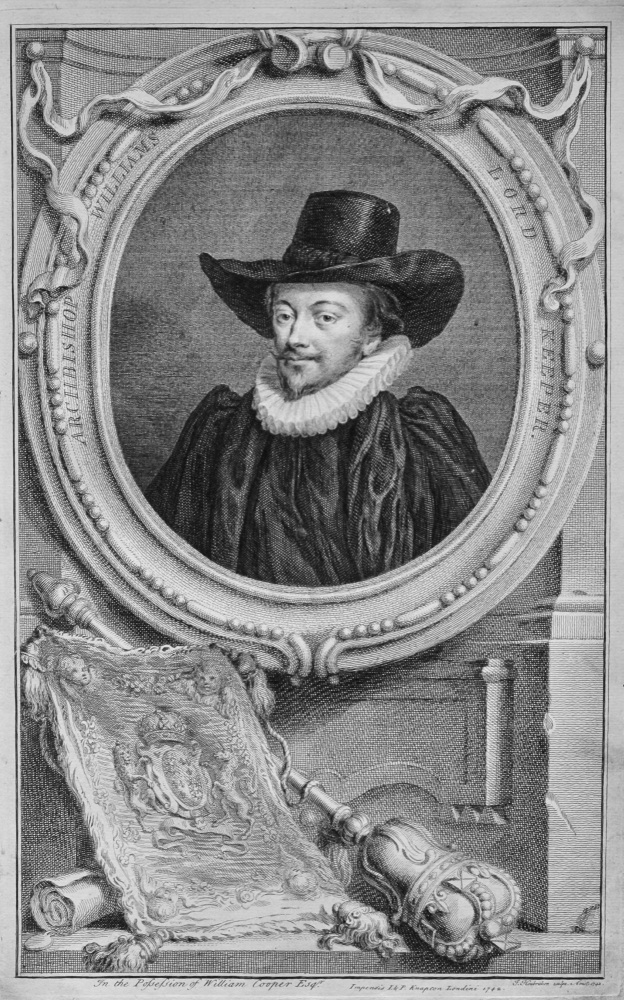Archbishop Williams  Lord Keeper.