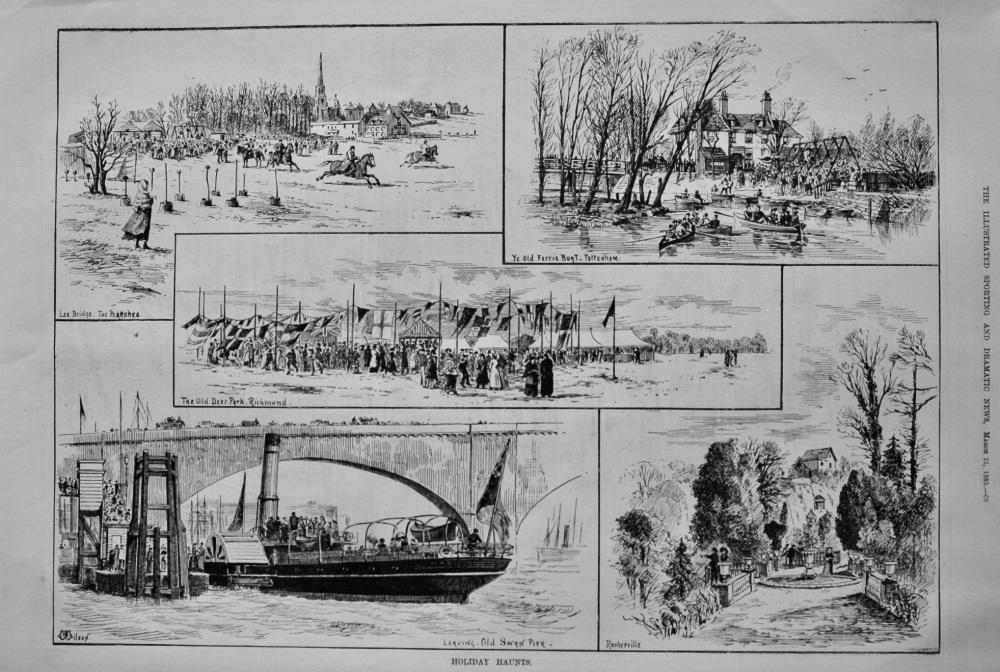Holiday Haunts.  1883.