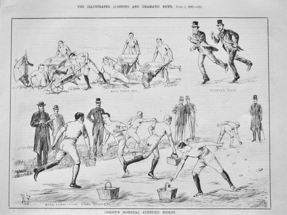 Christ's Hospital Athletic Sports.  1883.