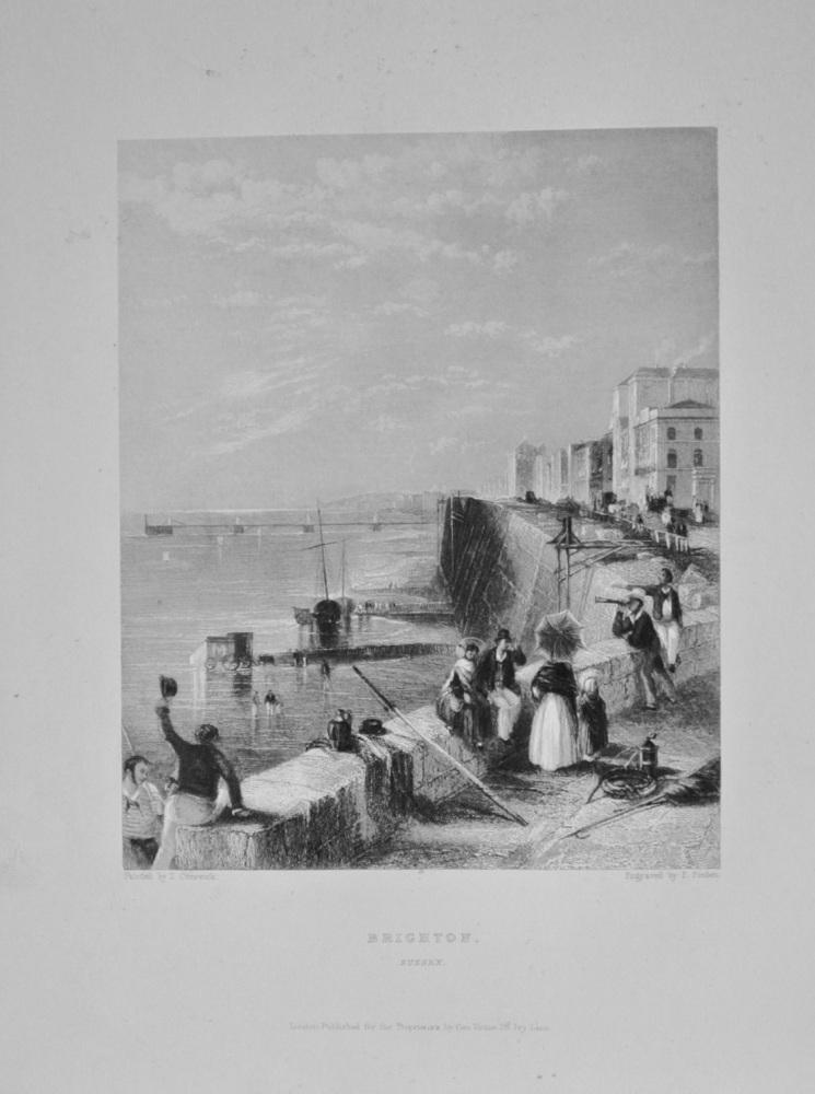 Brighton, Sussex. - 1842.