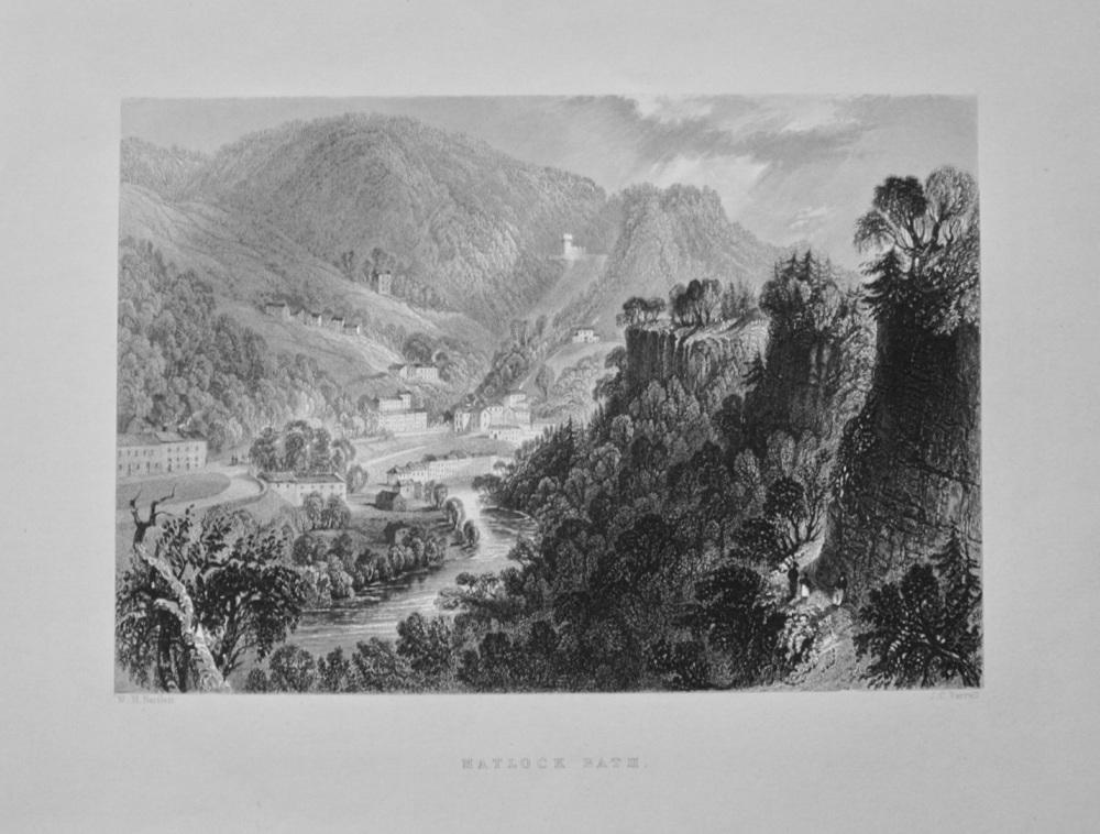 Matlock Bath. - 1842.