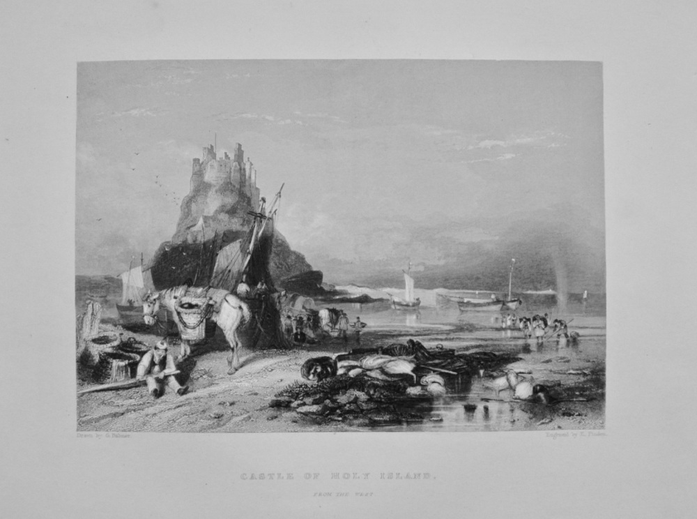 """Castle of Holy Island"" - 1842"