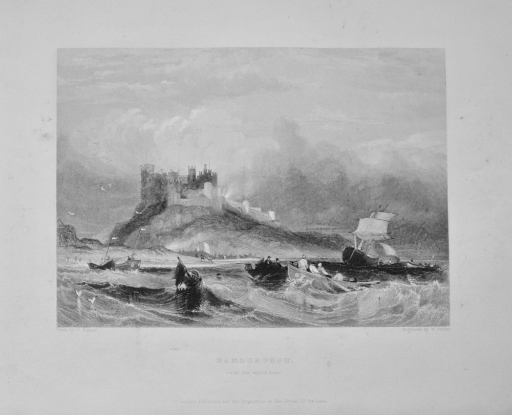 """Bamborough Castle."" - 1842"