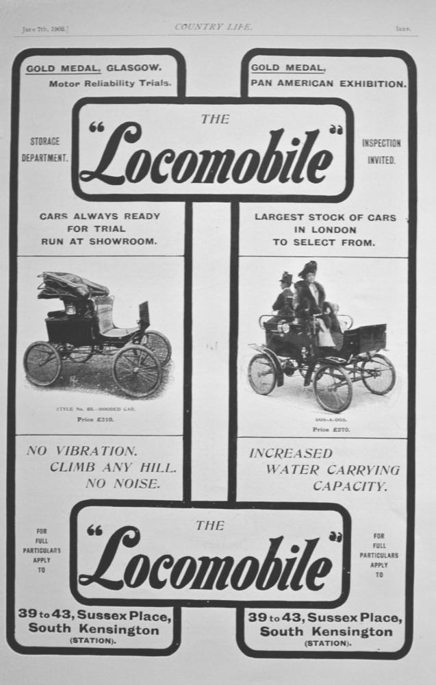 'Locomobile' - Advert - 1902