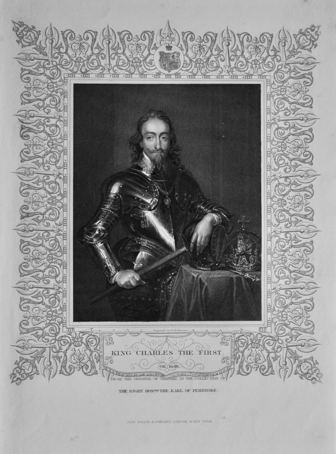 King Charles The First.