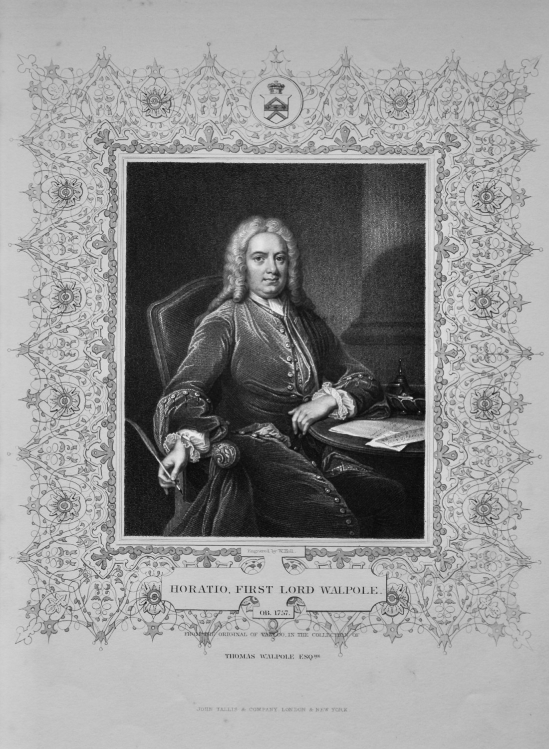 Horatio, First Lord Walpole.