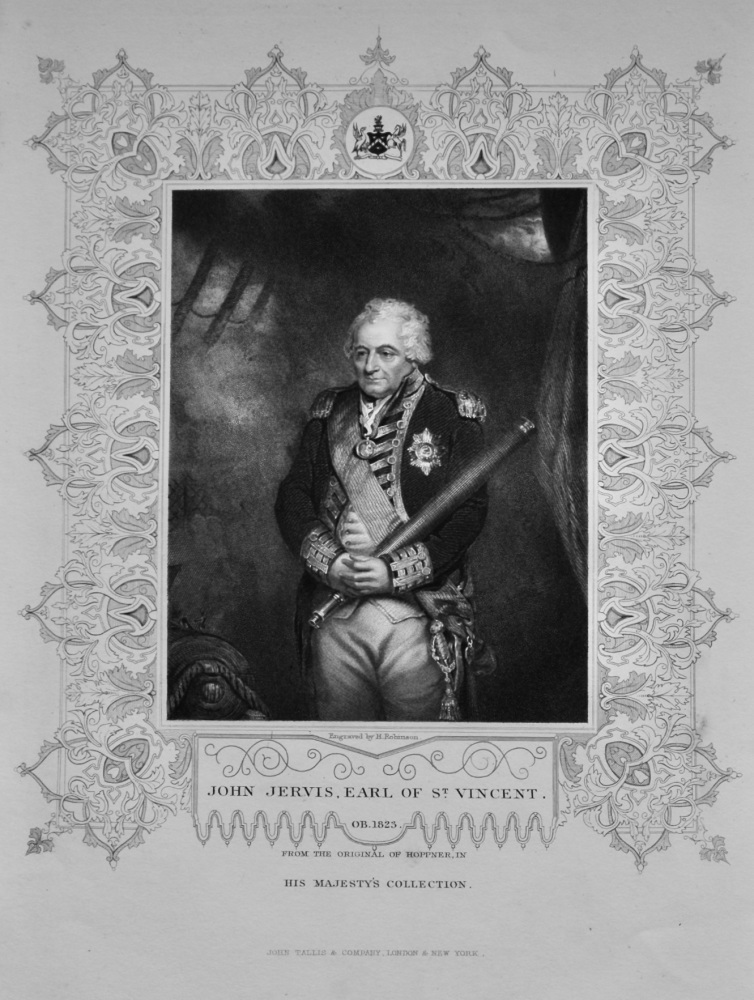 John Jervis, Earl of St. Vincent.