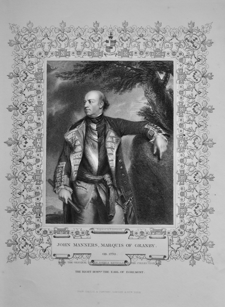 John Manners, Marquis of Granby.
