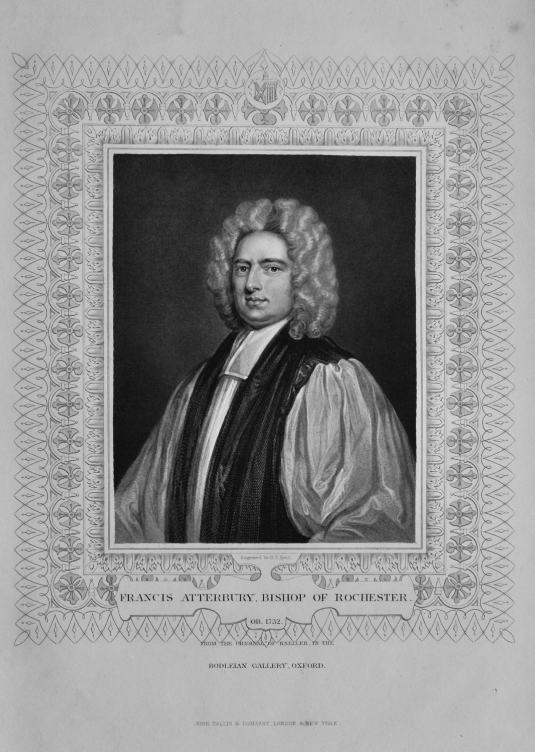 Francis Atterbury, Bishop of Rochester.