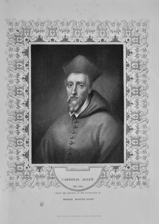 Cardinal Allen.