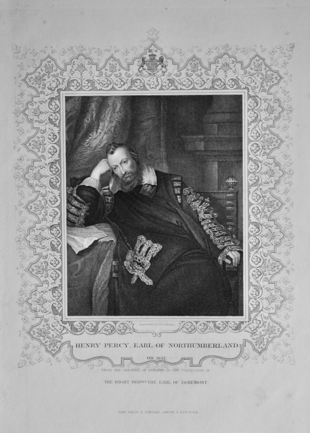 Henry Percy, Earl of Northumberland.