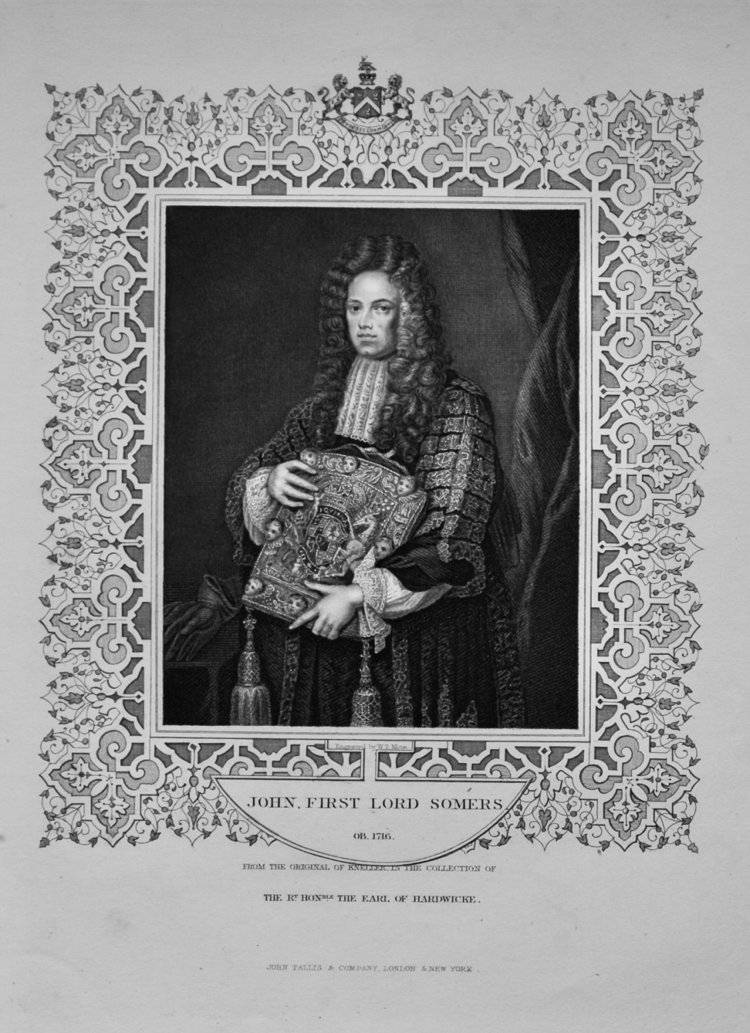 John, First Lord Somers.