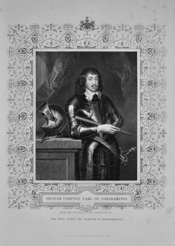 Spencer Compton, Earl of Northampton.