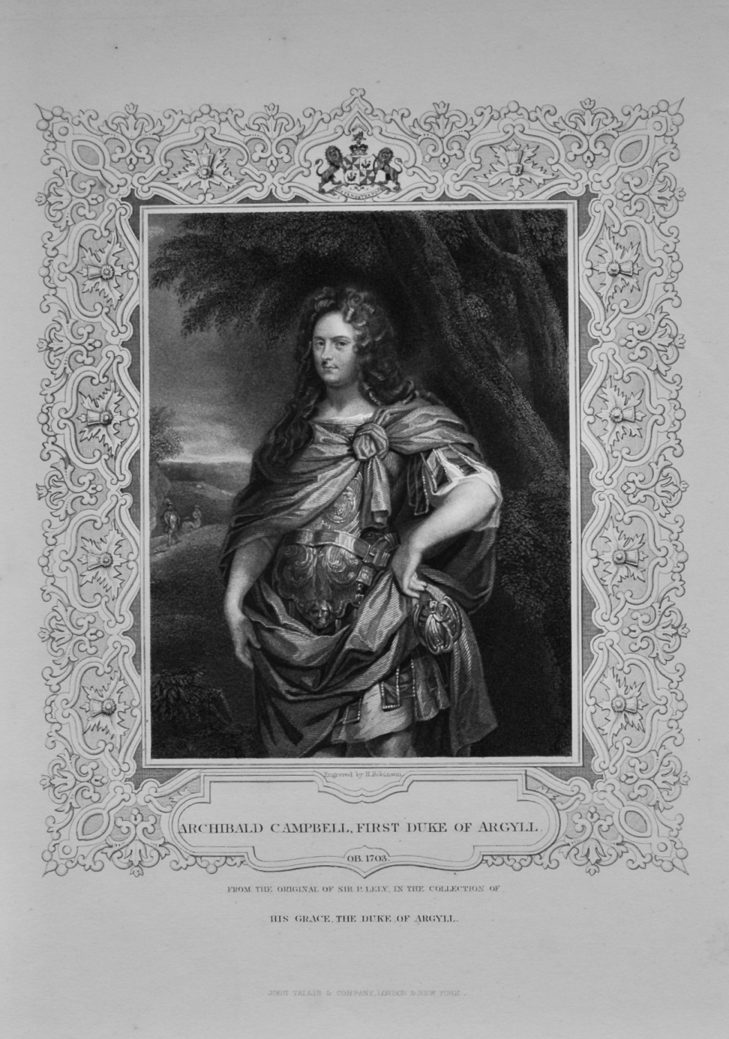 Archibald Campbell, First Duke of Argyll.