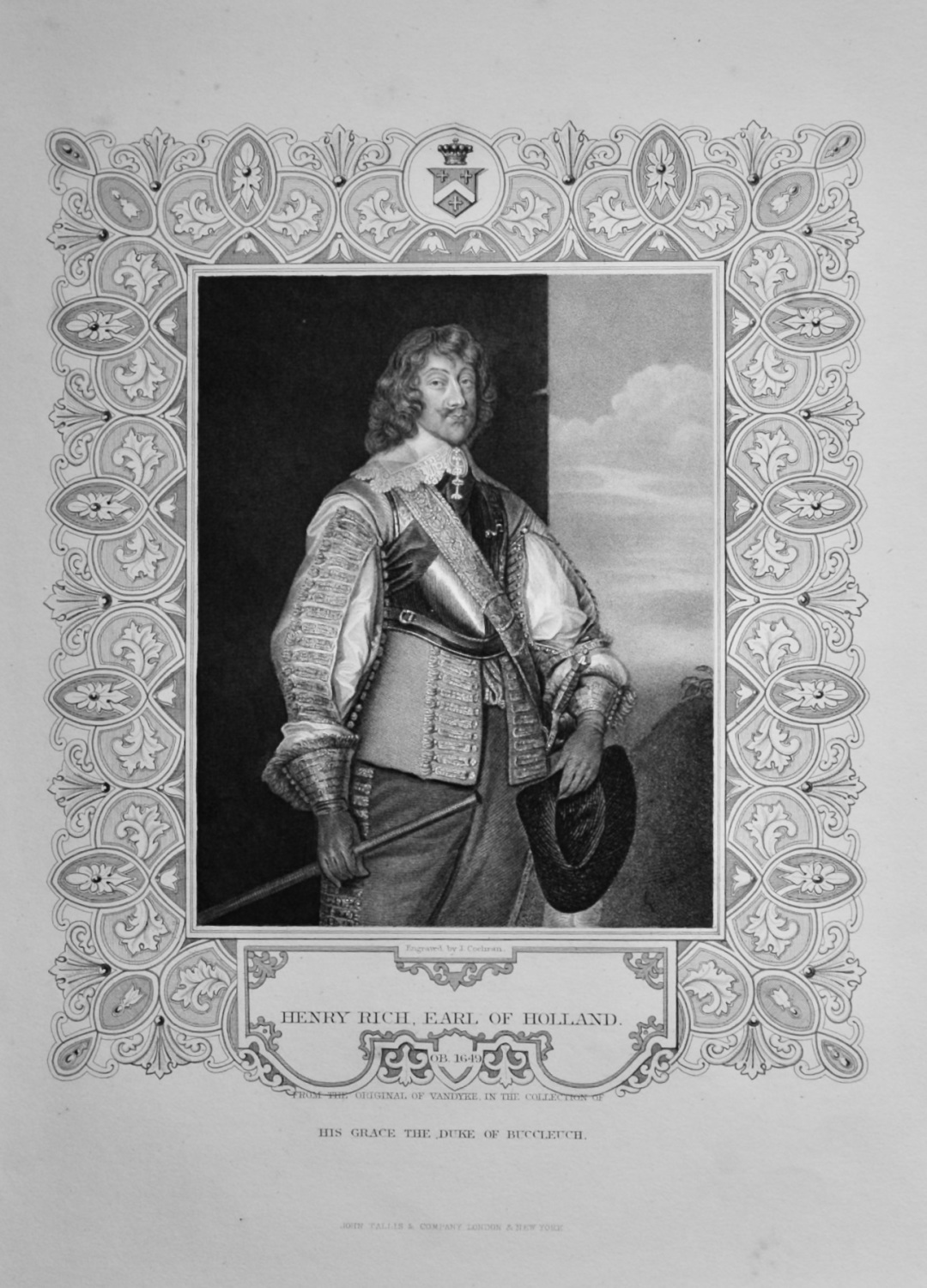 Henry Rich, Earl of Holland.