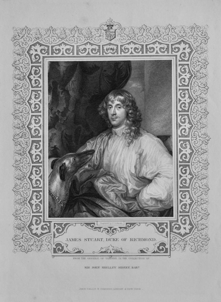 James Stuart, Duke of Richmond.