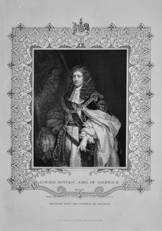 Edward Montagu, Earl of Sandwich.