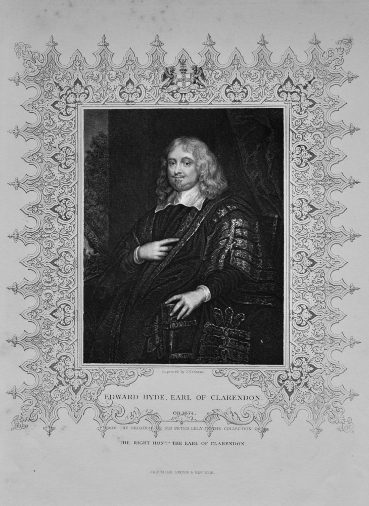 Edward Hyde, Earl of Clarendon.