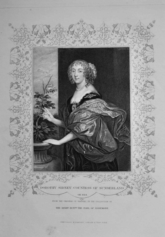 Dorothy Sidney, Countess of Sunderland.