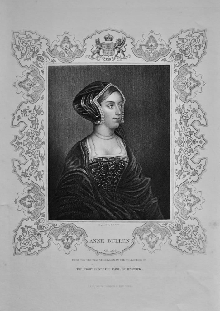 Anne Bullen.