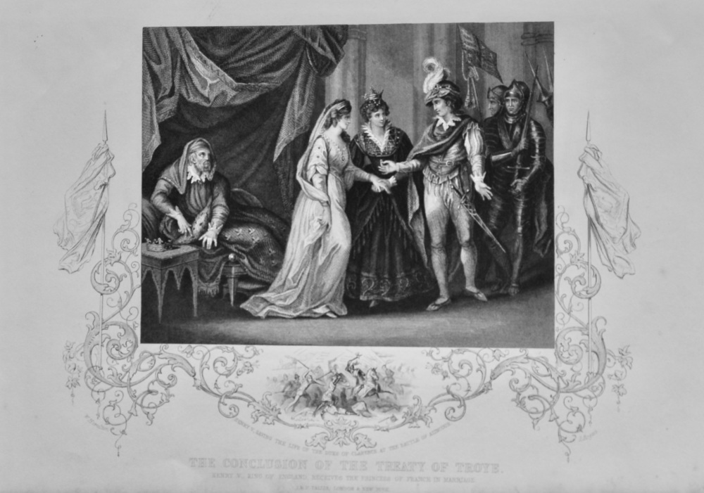 The Conclusion of the Treaty of Troye.