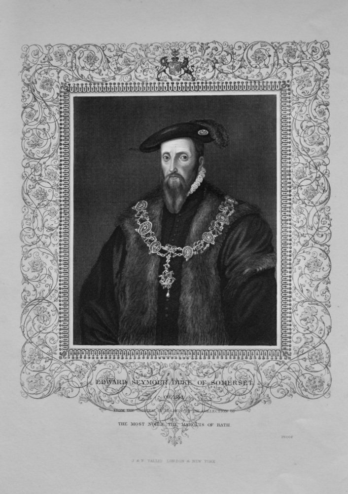Edward Seymour Duke of Somerset.