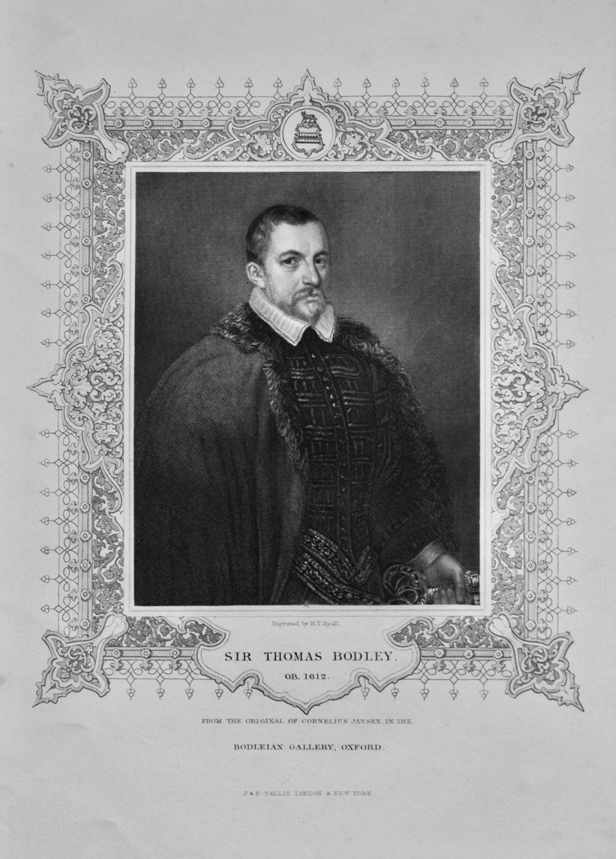 Sir Thomas Bodley.