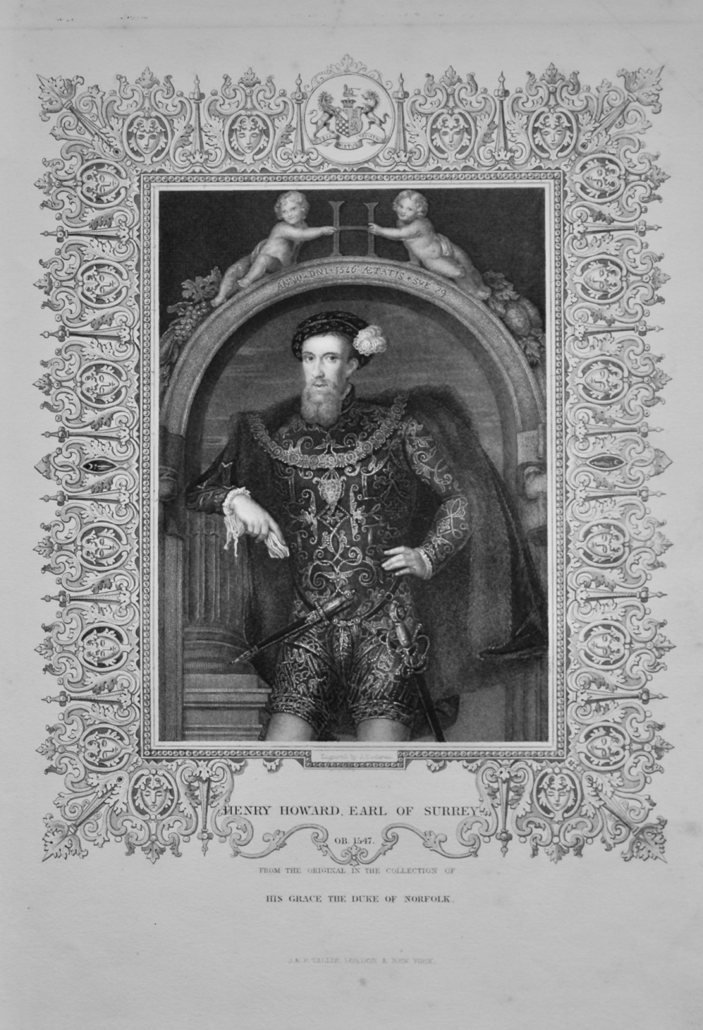 Henry Howard, Earl of Surrey.