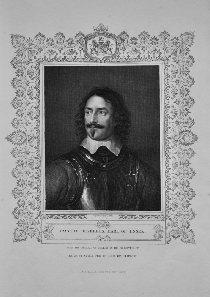 Robert Devereux. Earl of Sussex.