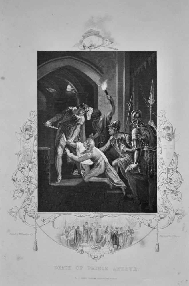 Death of Prince Arthur.