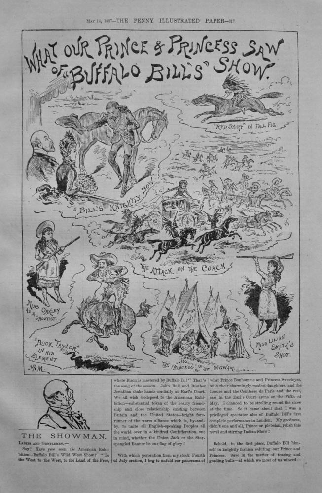 """The Showman - """"Buffalo Bill's Show - 1887"""