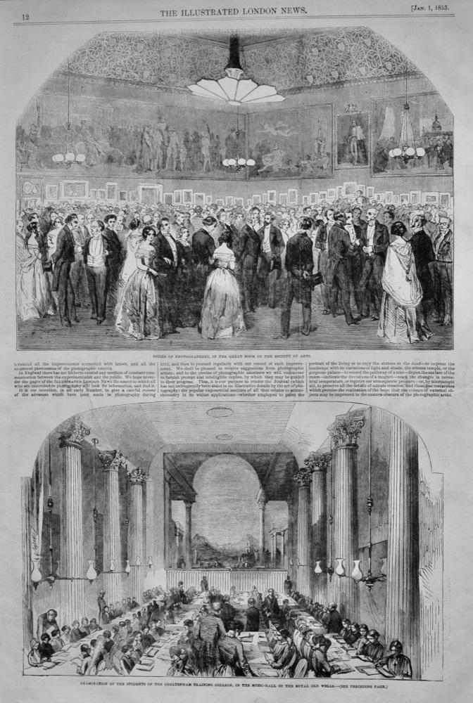 Cheltenham Training College.- Annual Examination.  1853.