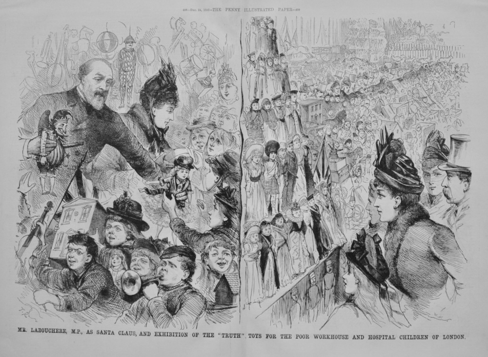 """Exhibition of the """"Truth"""" Toys - 1887"""