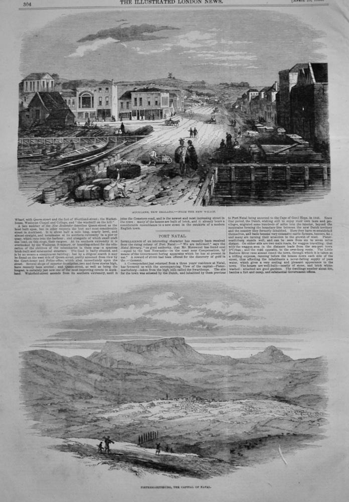 New Zealand. &  Port Natal.   1853.