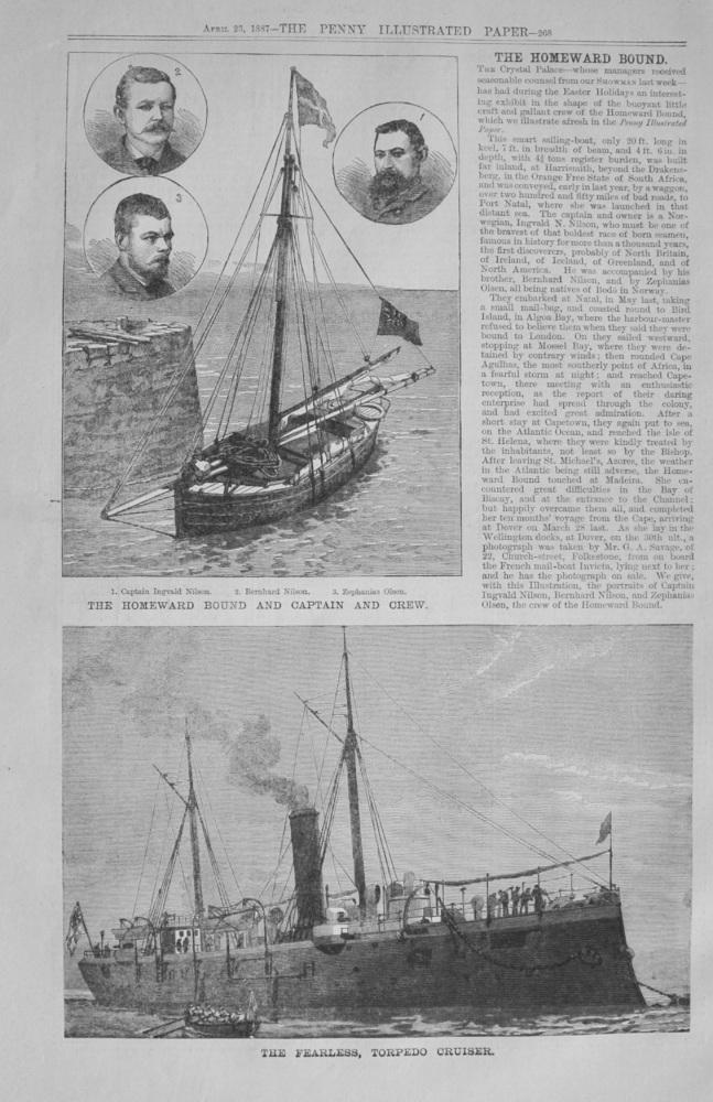 """""""The Homeward Bound"""" - 1887"""