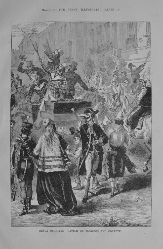 Genoa Carnival - 1887