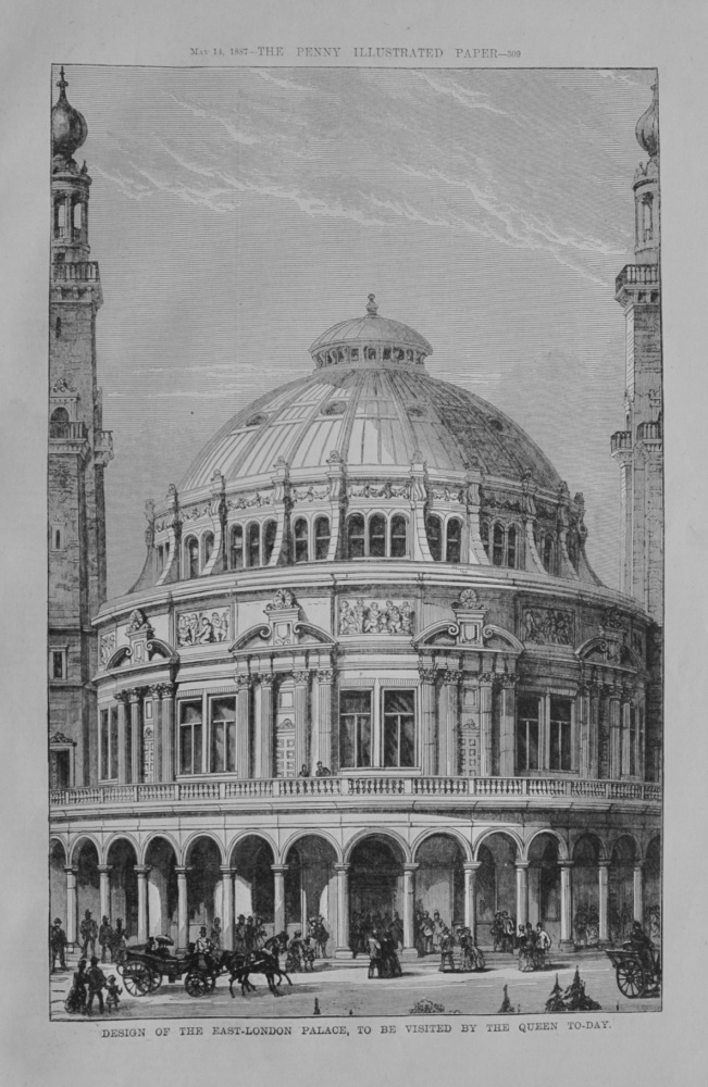 People's Palace for the East-End - 1887