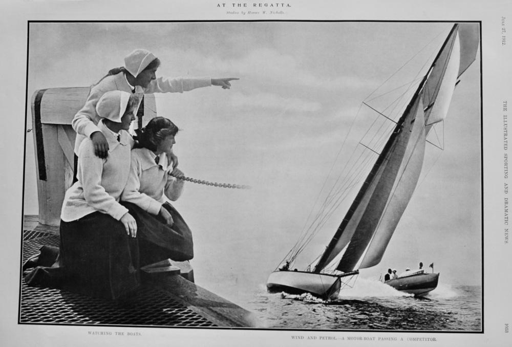 At the Regatta.  (Studies by Horace W. Nicholls.)  1912.