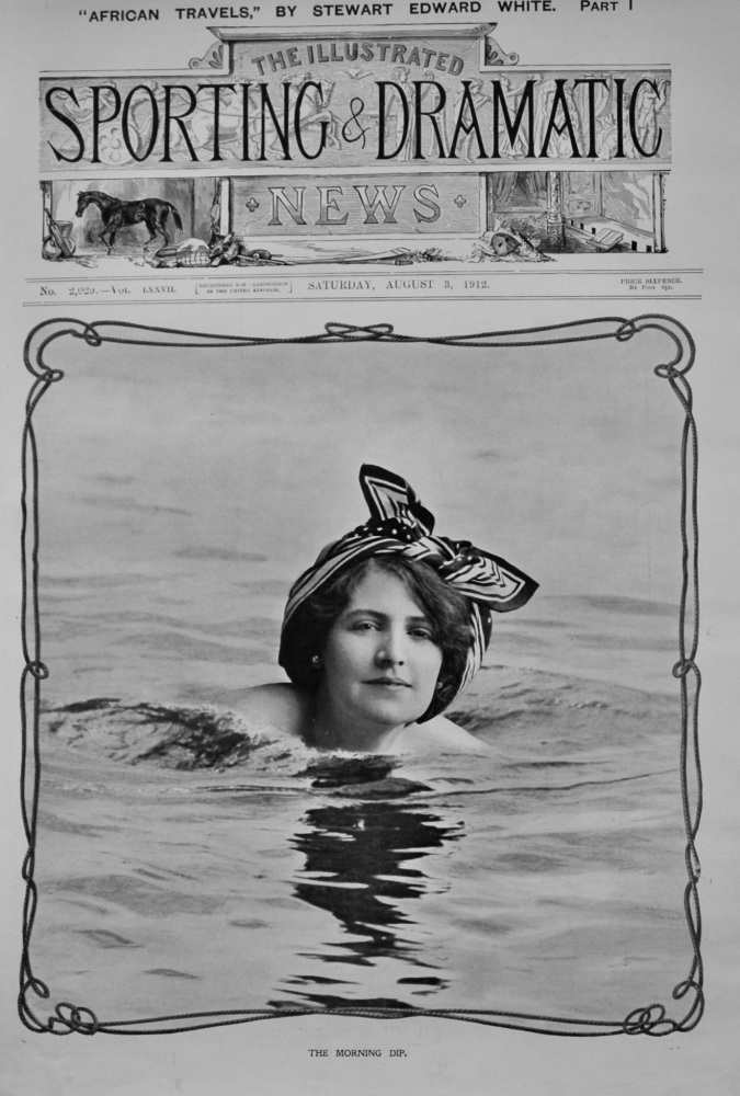 The Morning Dip.  1912.