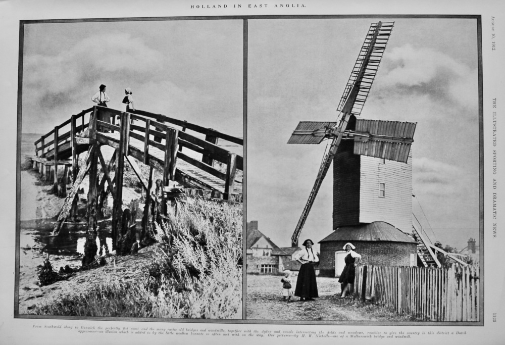 Holland in East Anglia.  1912.