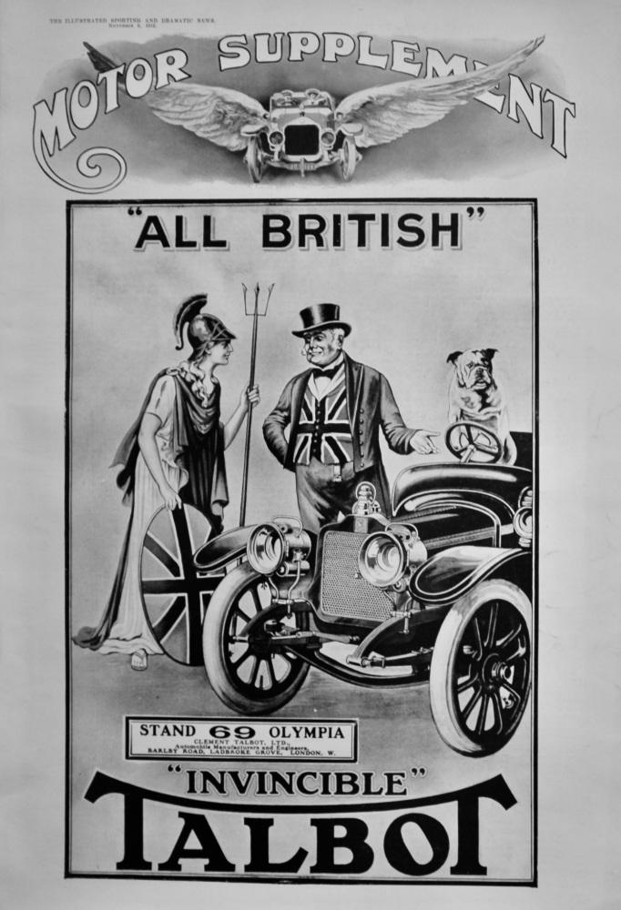 Motor Supplement. November 9th,  & November 16th, 1912. (Part 1. & Part 2.)