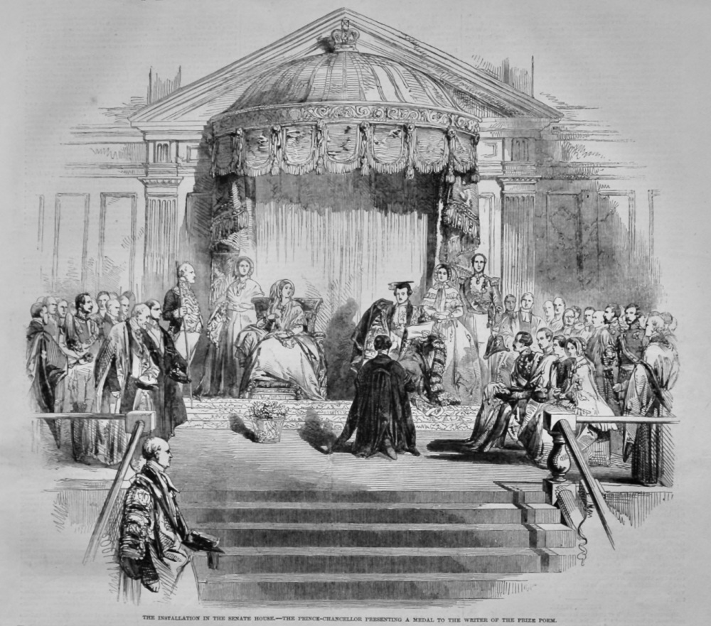 Installation at Cambridge.  1847.