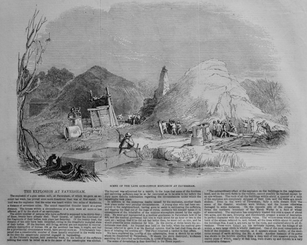 Explosion at Faversham.  1847.