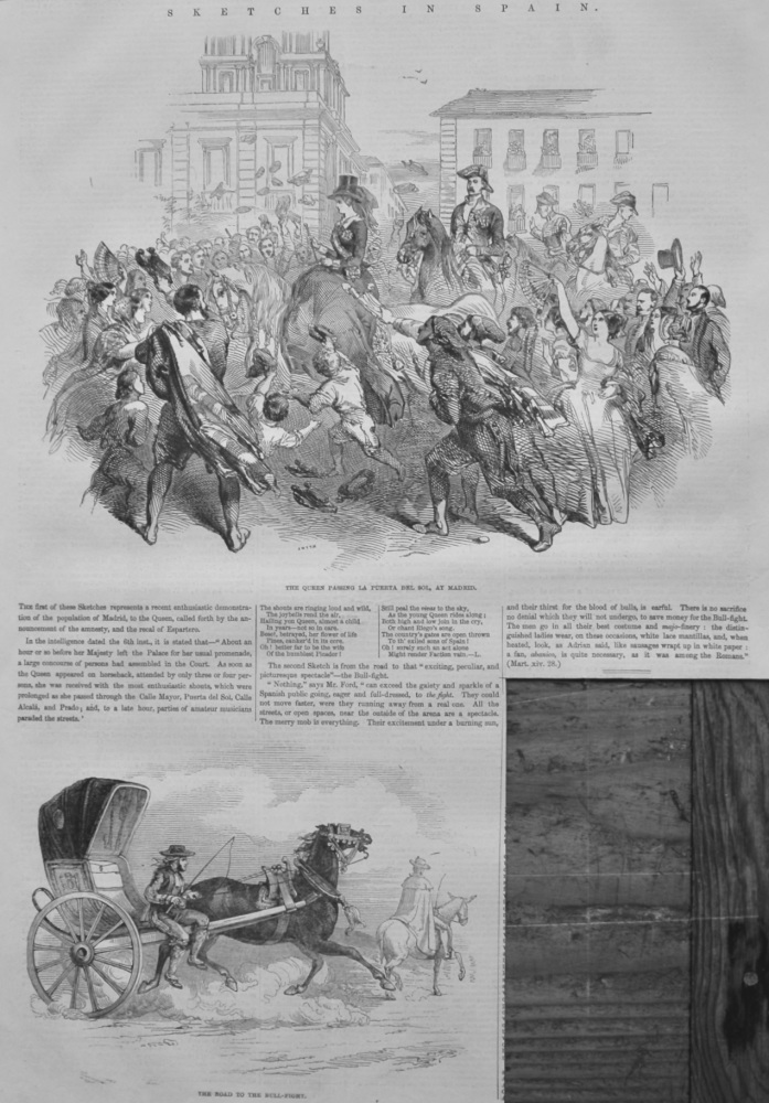 Sketches in Spain.  1847.